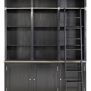 Vermont French Cabinet Black - Artwood