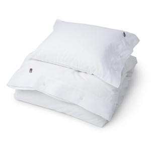 Pin Point White Duvet - Lexington