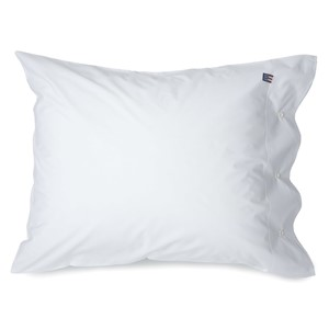Pin Point White Pillowcase - Lexington