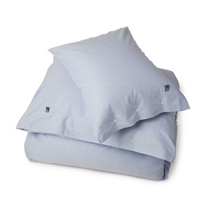 Pin Point Blue Duvet - Lexington