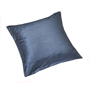 Blue Velour Pute 45x45 - Home Factory