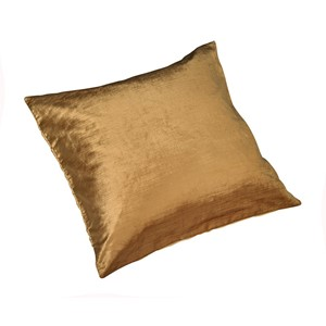 Ochre Velour Pute 45x45 - Home Factory