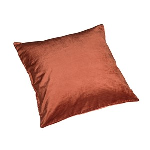 Terracotta Velour pute 45x45 - Home Factory
