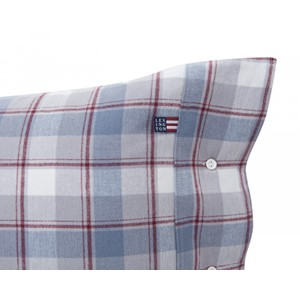 Check Flannel Pillowcase - Lexington