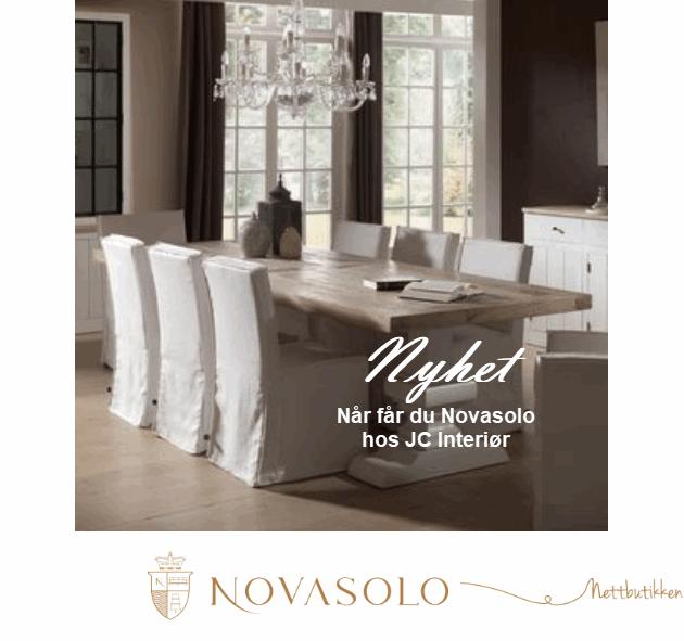 Fantastisk Møbler fra Novasolo - JC Interiør AS IG-23